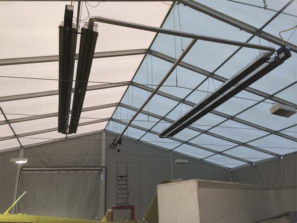 Aircraft Hanger Marquee