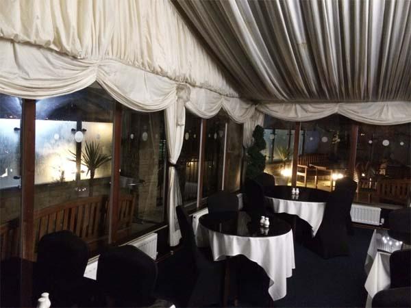 Pontefract Hotel Restaurant Marquee